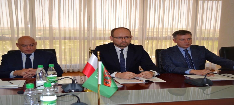 TURKMEN-POLISH POLITICAL CONSULTATIONS WERE HELD IN ASHGABAT
