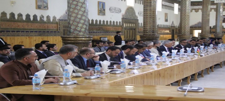 TURKMEN-AFGHAN TALKS HELD IN HERAT