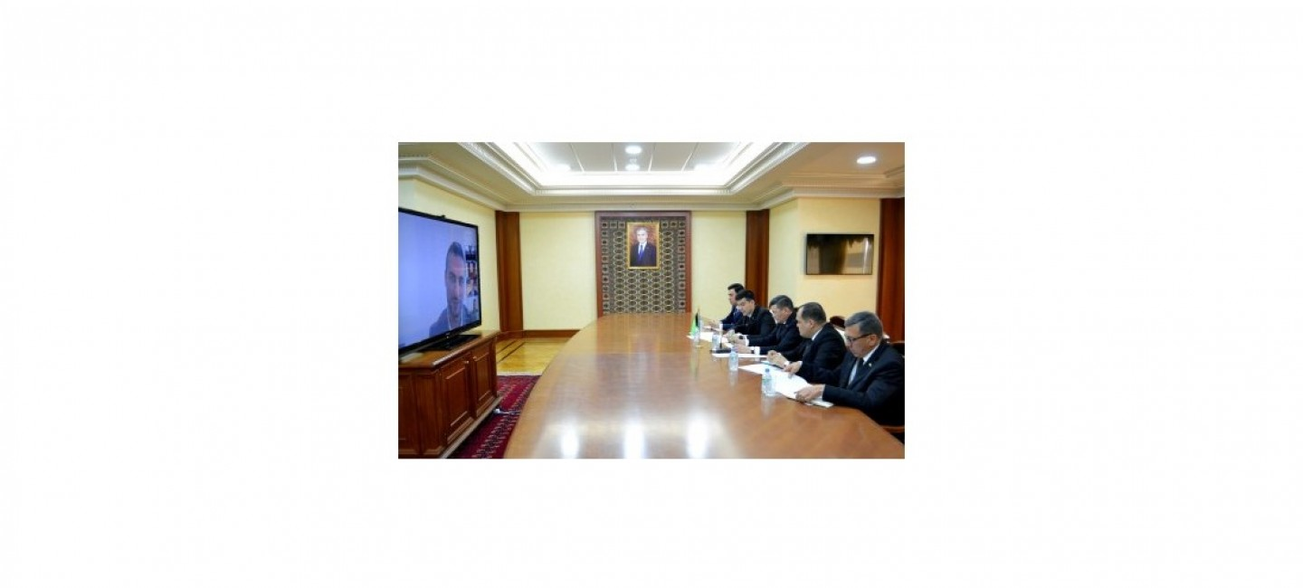 "A VIDEOCONFERENCE WAS HELD WITH THE ORGANIZERS OF THE INTERNATIONAL EXHIBITION ""EXPO 2020"""