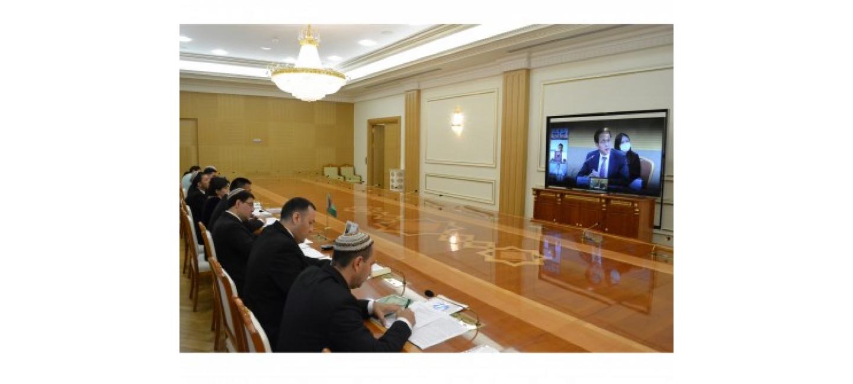 THE REGULAR MEETING OF THE TURKMEN-KOREAN BUSINESS COUNCIL