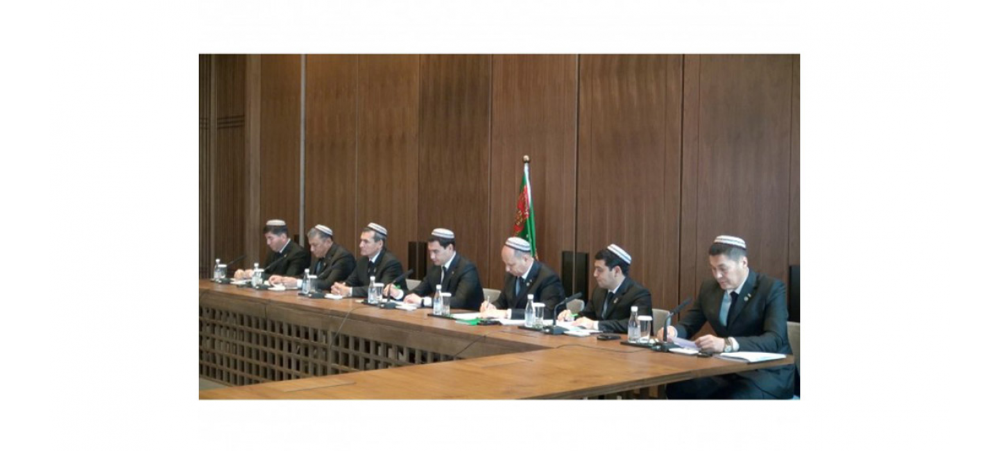 MEETING OF THE CO-CHAIRMEN OF THE INTERGOVERNMENTAL TURKMEN-CHINESE COMMITTEE FOR COOPERATION WAS HELD