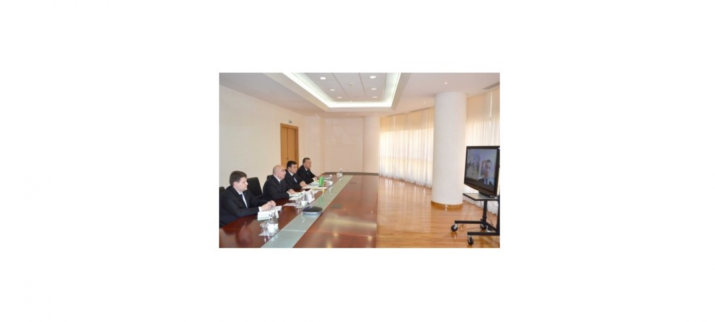 "A MEETING OF REPRESENTATIVES OF RELEVANT DEPARTMENTS OF TURKMENISTAN WITH THE COMPANY ""TOTAL"""