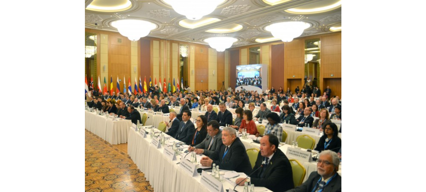 WHO EUROPEAN HIGH-LEVEL CONFERENCE ON NON-COMMUNICABLE DISEASES HAS STARTED IN ASHGABAT
