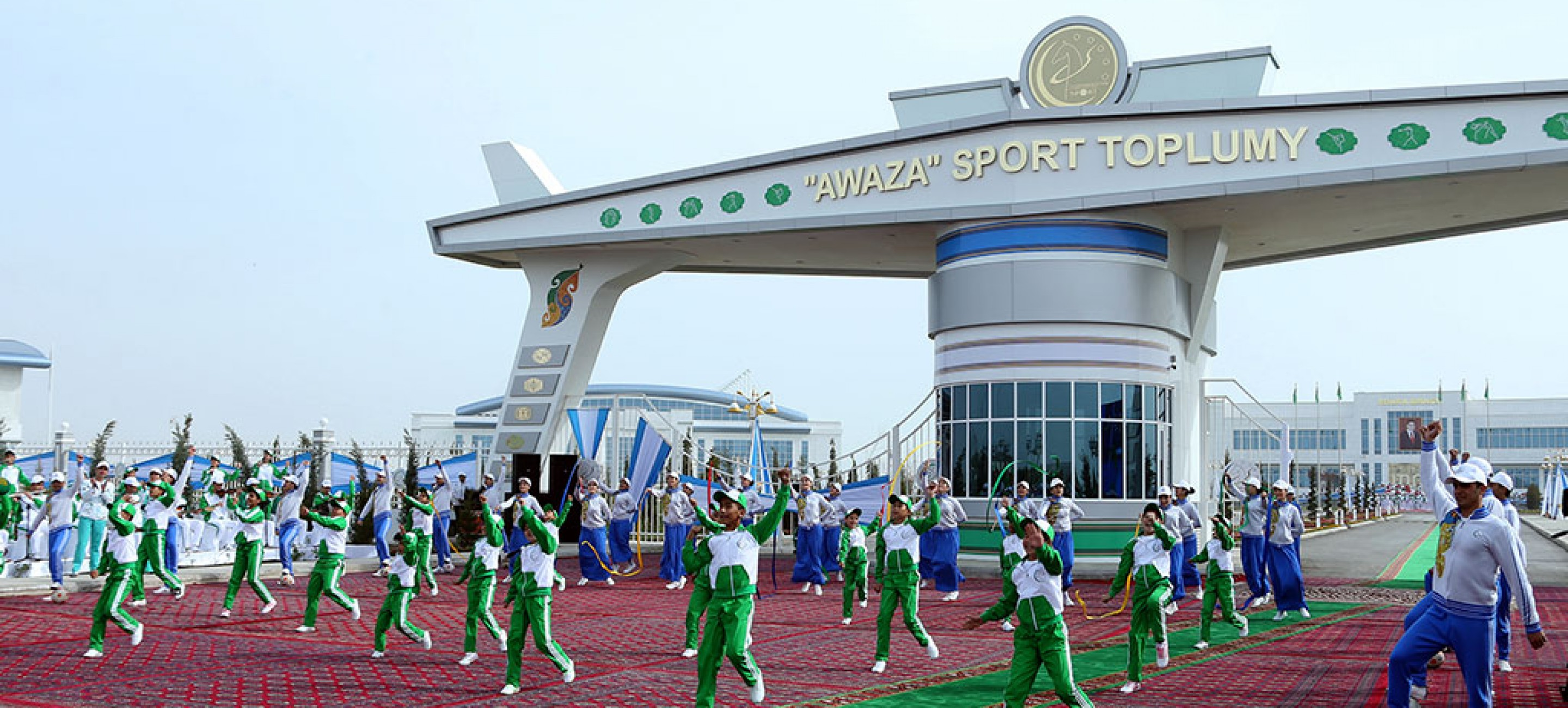 "President of Turkmenistan inaugurated new modern sport complex ""Avaza"""