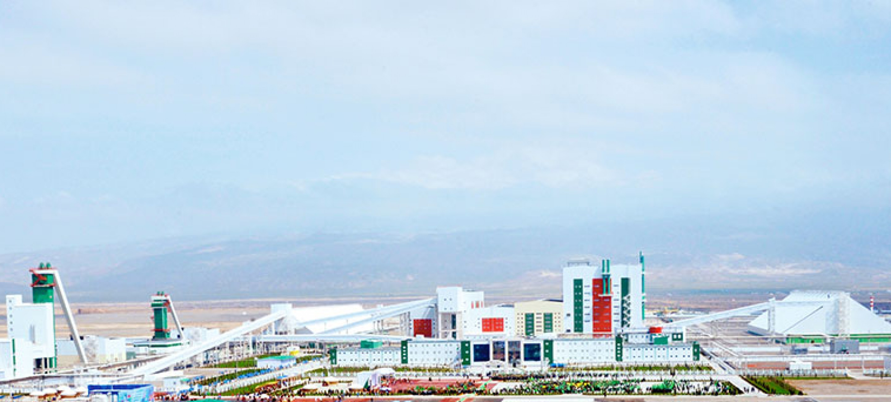 """Garlyk"" mining and processing plant inagurated in Turkmenistan"